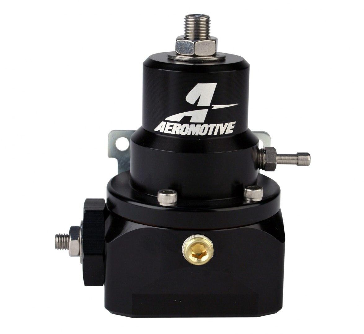 Regulator ciśnienia paliwa Aeromotive Double-Adjustable Bypass 2-PORT - GRUBYGARAGE - Sklep Tuningowy